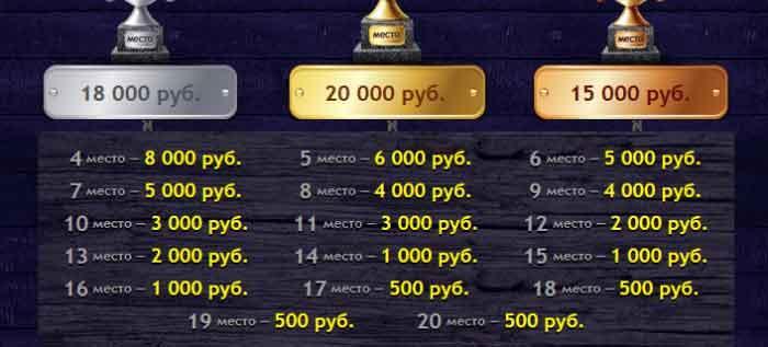 победа в турнире казино