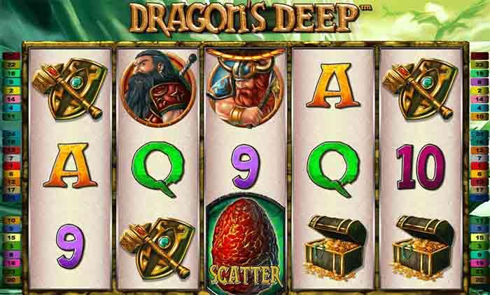 игровой слот dragons deep